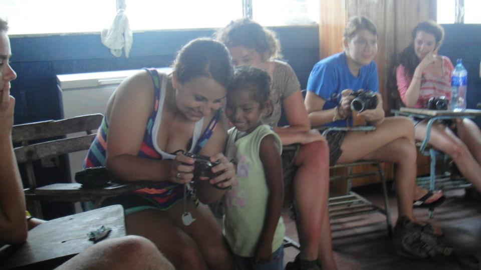 Student in Nicaragua on a FLAS approved program