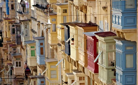 malta old alley houses - photo #26
