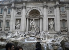 """There is a Legend about the Trevi Fountain"" – Erica Kuestersteffen"