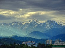 almaty morning
