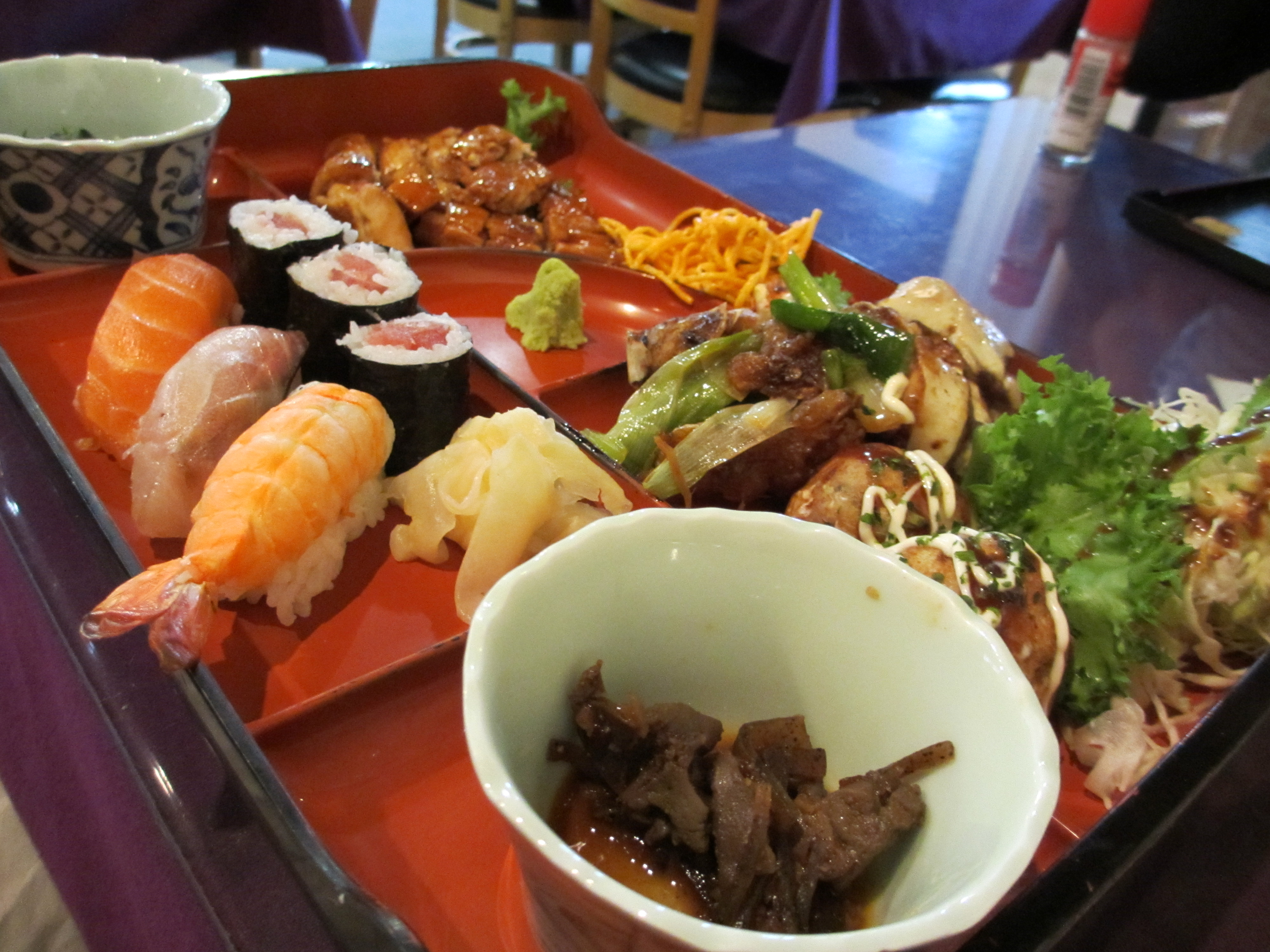 Food in japan jayhawks abroad for Asian cuisine food